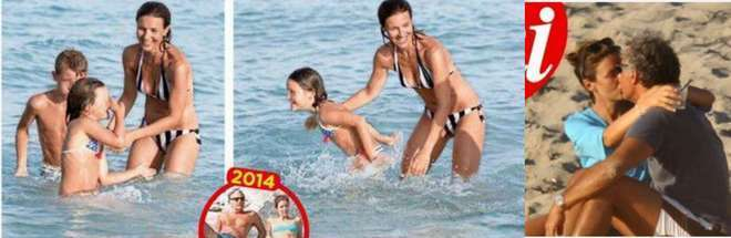 """Alessandra Moretti,vacanze da mamma single: """"con Massimo Giletti siamo solo amici"""""""