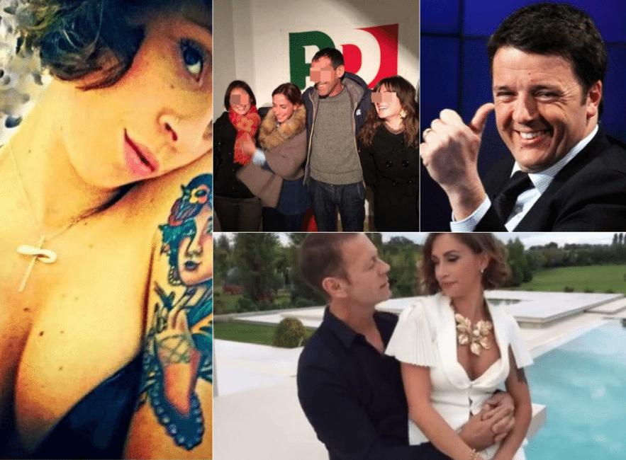 """Malena, la porno delegata del Pd: """"Io, Rocco e Renzi, tutta la verità"""""""