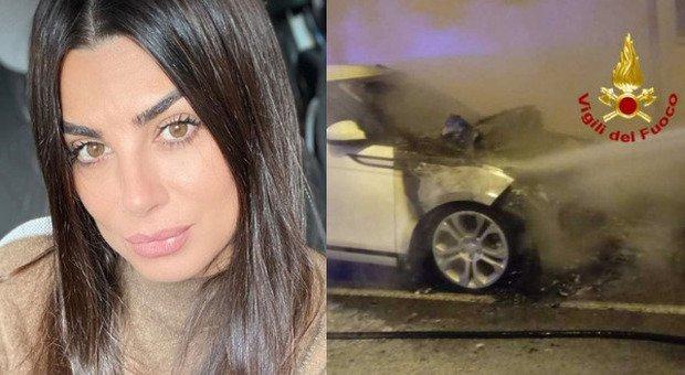 Serena Enardu, la sua auto incendiata sotto casa a Cagliari. Paura per la ex tronista: è già la seconda volta